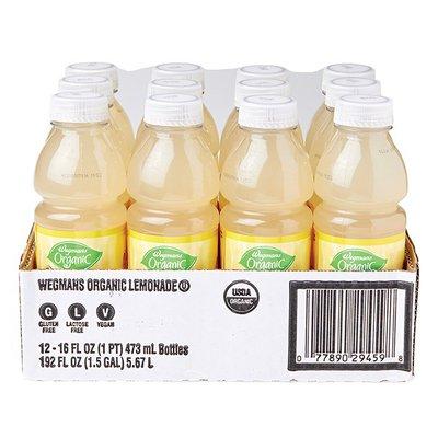 Wegmans Organic Lemonade, FAMILY PACK