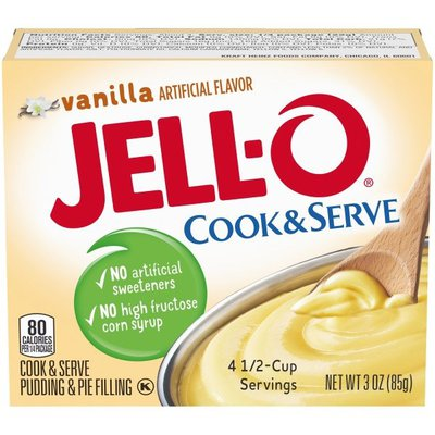 Jell-O Vanilla Cook & Serve Pudding & Pie Filling Mix