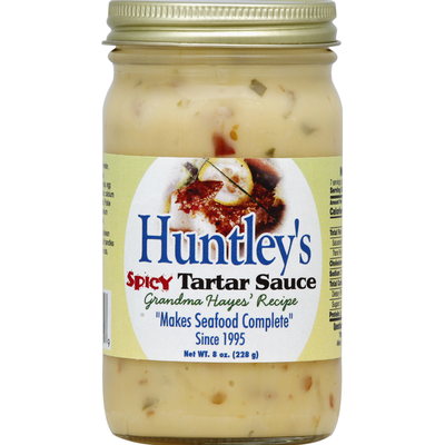 Huntley's Tartar Sauce, Spicy