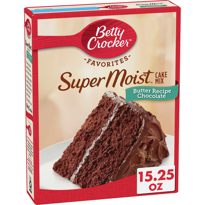 Betty Crocker Super Moist Butter Recipe Chocolate Cake Mix