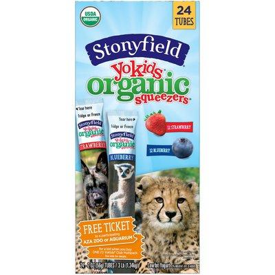 Stonyfield Organic Yokids Organic Squeezers