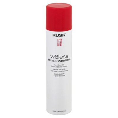 RUSK Hairspray, Plus, Extra Strong Hold