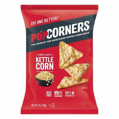 PopCorners Popped-Corn Snacks, Sweet & Salty, Kettle Corn