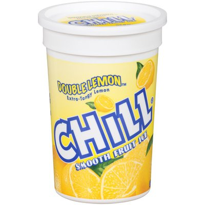 Chill Double Lemon Extra-Tangy Lemon Smooth Fruit Ice