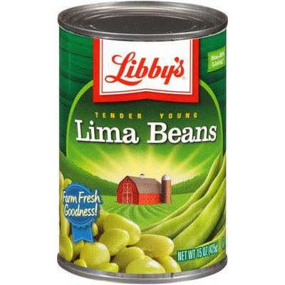 Libby's Tender Young Lima Beans