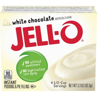 Jell-O White Chocolate Instant Pudding & Pie Filling Mix