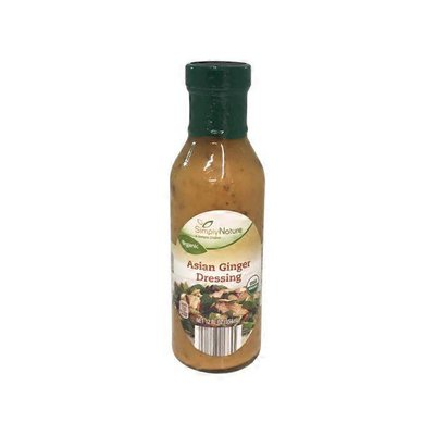 Simply Nature Organic Asian Ginger Dressing