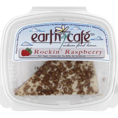 Earth Cafe Cheesecake, Rockin' Raspberry