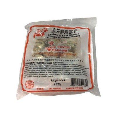 Unique Wonton Leek & Shrimp Wonton