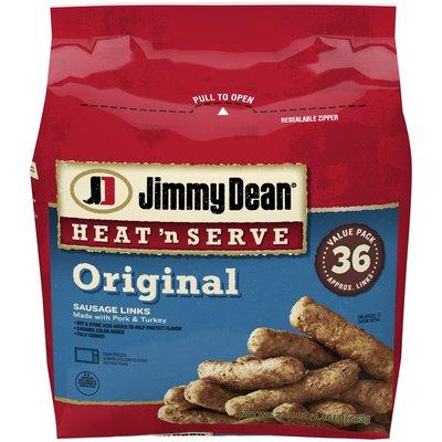 Jimmy Dean Heat 'N Serve Original Pork Sausage Links