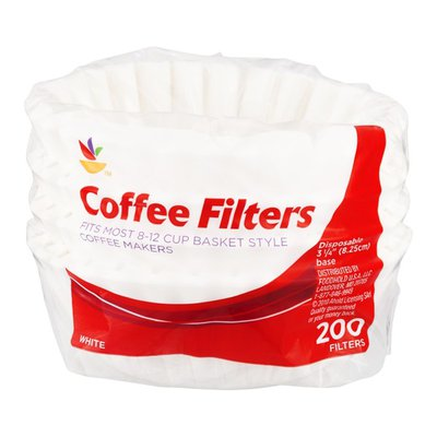 SB Coffee Filters, Basket Style, 8-12 Cup