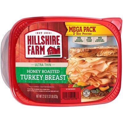 Hillshire Farm Turkey Breast, Honey Roasted, Ultra Thin, Mega Pack