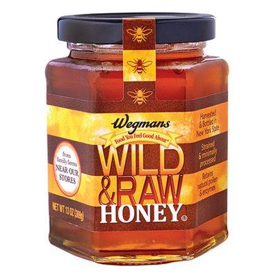 Wegmans Wild & Raw Honey