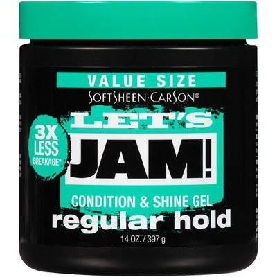 Softsheen-Carson For All Hair Types Condition & Shine Gel - Regular Hold