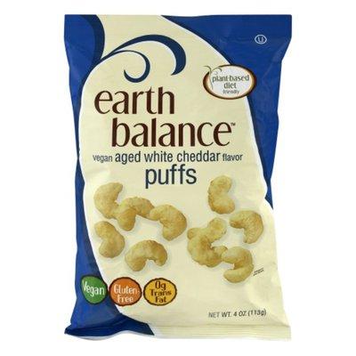 Earth Balance Puffs, Vegan, Aged White Cheddar Flavor