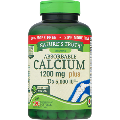 Nature's Truth Natures Truth Absorbable Calcium