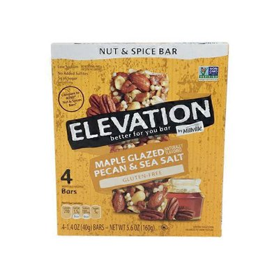 Elevation by Millville Maple Glazed Fruit and Nut Bars