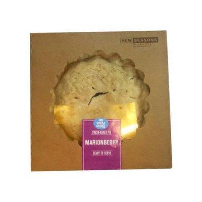 New Seasons Market No Sugar Added Marionberry Pie
