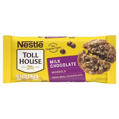 Toll House Nestle  Milk Chocolate Chips