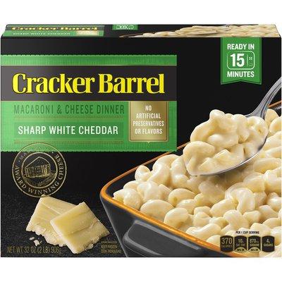 Cracker Barrel Sharp White Cheddar Macaroni & Cheese Frozen Dinner