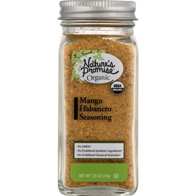 Nature's Promise Habanero Seasoning, Organic, Mango, Jar