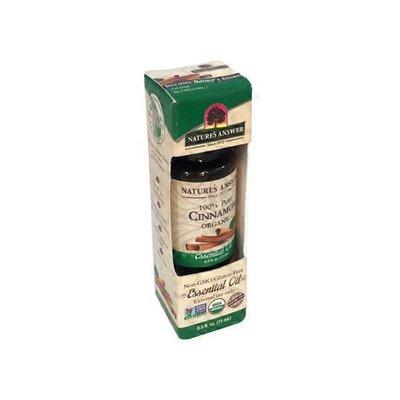 Nature's Answer ORGANIC 100% PURE CINNAMON ORGANIC Essential Oil