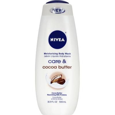 Nivea Body Wash, Moisturizing, Care & Cocoa Butter