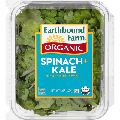 Earthbound Farms Organic Spinach + Kale