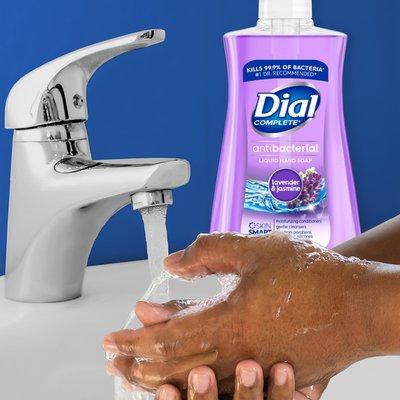 Dial Antibacterial Liquid Hand Soap, Lavender & Jasmine