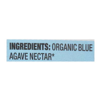 Wholesome Sweetener, Organic, Blue Agave
