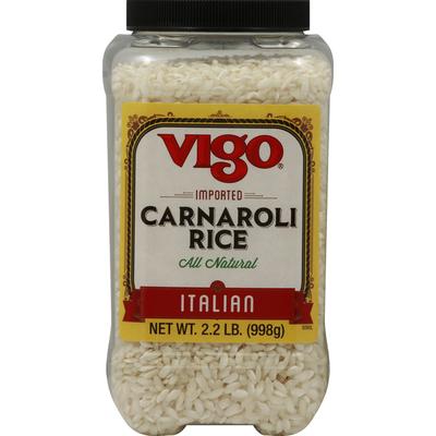 Vigo Rice, Carnaroli, Imported, Italian, All Natural