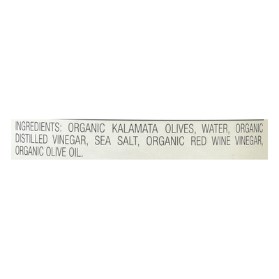 Jeff's Garden Kalamata Olives, Organic, Sliced Greek