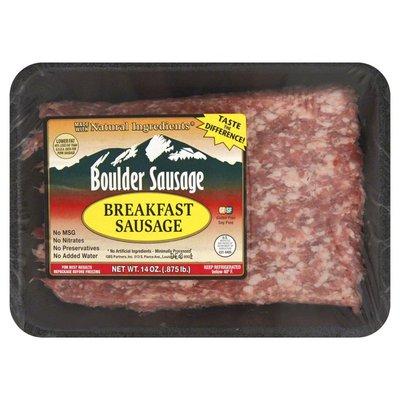 Boulder Sausage Breakfast Sausage, Bulk