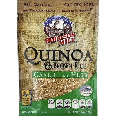 Hodgson Mill Quinoa & Brown Rice, Garlic and Herb
