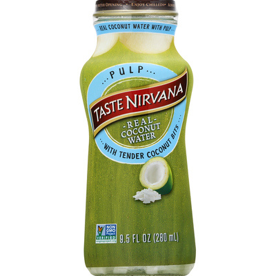 Taste Nirvana Coconut Water with Real Pulp