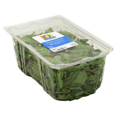 O Organics Super Greens Blend A Blend Of Organic Spinach, Organic Chard, & Organic Kale