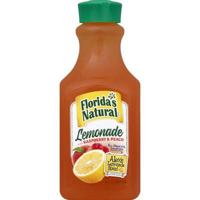 Florida's Natural Lemonade, with Raspberry & Peach
