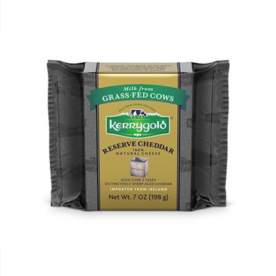 Kerrygold Grass-Fed Reserve Irish Cheddar,