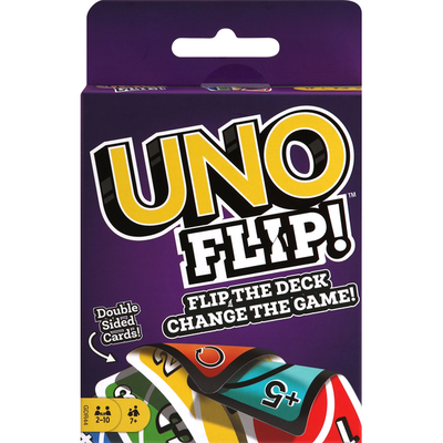 Uno Cards, Double Sided, Flip