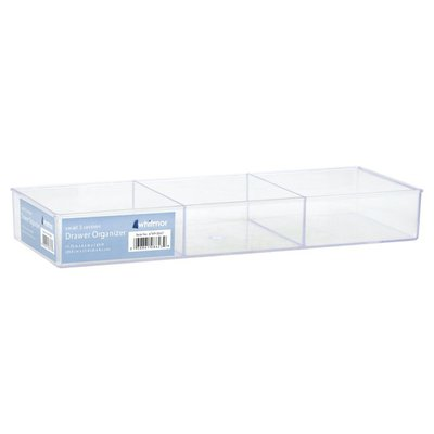 Whitmor Drawer Organizer, Small 3 Section