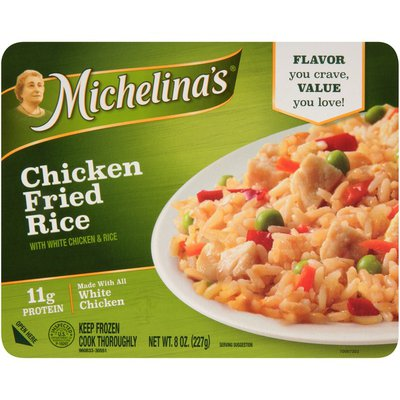 Michelina's Chicken Fried Rice, with White Chicken & Rice
