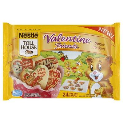 Toll House Sugar Cookies, Valentine Friends