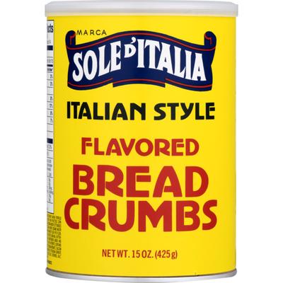 Sun Of Italy Bread Crumbs, Flavored, Italian Style