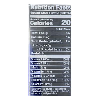 Karma Probiotic Water, Blueberry Lemonade