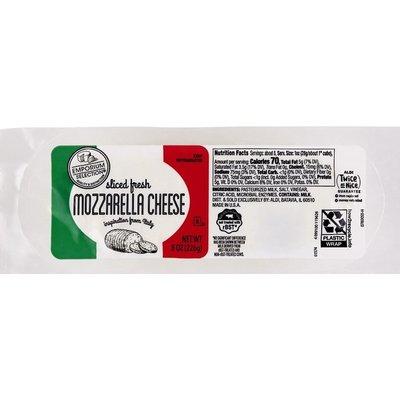 Emporium Selection Pre-Sliced Fresh Mozzarella Log