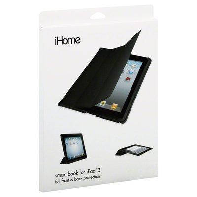 Ihome Smart Book, for iPad 2, Black