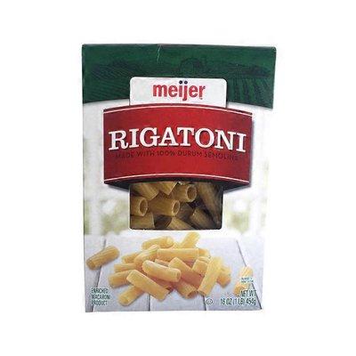 Meijer Pasta Rigatoni