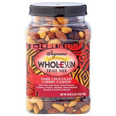 Wegmans Dark Chocolate Cherry Cashew Wholesum Trail Mix