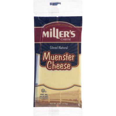 Mrs. Millers Cheese Muenster Sliced