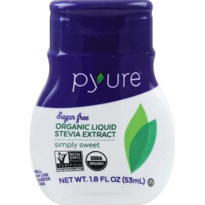 Pyure Sugar Free Organic Liquid Stevia Extract Simply Sweet Sweetener